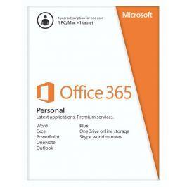 Microsoft Office 365 Personal 32-bit/x64 Slovak Subscr 1YR Eurozone Medialess P2 - Box