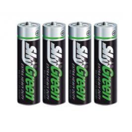 SKY Baterie, AA (tužková), 4 ks, , Green
