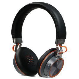 REMAX náhlavní sluchátka RB-195HB / bezdrátová / pohotovostní doba max. 14h / če
