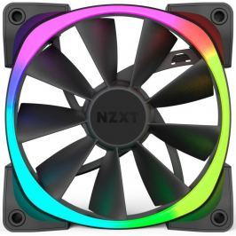 NZXT ventilátor Aer RGB Series / RF-AR120-B1 / 120 mm / 22 – 31 dBA / 4-pin