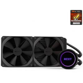 NZXT vodní chladič Kraken X62 / 2x 140mm fan / LGA 2011-3/1366/1156/1155/1150/FM