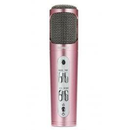 REMAX mikrofon / RM-K02 / 440mAh baterie / pro Android i iOS / provoz až 6-8 hod