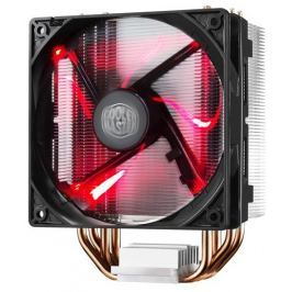 COOLER MASTER chladič  Hyper 212 LED , univ. socket, 120mm PWM red LED fan