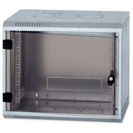 """Triton Rack  19"""" jednodílný 6U/500mm prosklené dveře,odnímatelné boční kryty zine"""