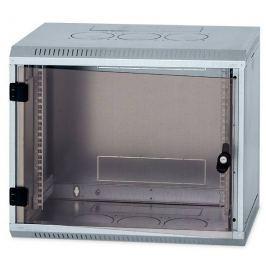 """Triton Rack  19"""" jednodílný 9U/500mm prosklené dveře,odnímatelné boční kryty zine"""