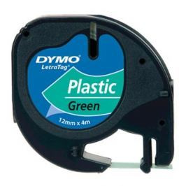 DYMO originální páska do tiskárny štítků, , 91204, S0721640, černý tisk/zele