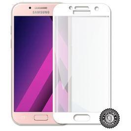 Screenshield ™ Temperované sklo SAMSUNG A320 Galaxy A3 (2017) (full COVER WHITE m