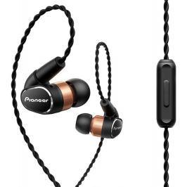 PIONEER špuntová sluchátka Hi-Res černá