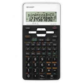 Sharp Kalkulačka  EL-531THWH - černá/bílá