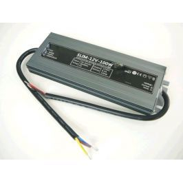 TLE Zdroj  napájecí pro LED pásky 100W, IP67, 12V, slim