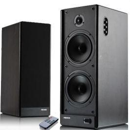 Microlab Solo7c stereo reproduktory 2.0, RMS 110W, MDF, tmavě hnědé + dálk. ovl.