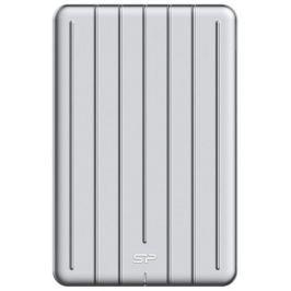 Silicon Power externí SSD Bolt B75 480GB USB 3.1 stříbrná