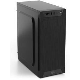 SILENTIUM PC SilentiumPC skříň MidT Armis AR1 Pure Black / čtečka SD / 2x USB 3.0 / 1x 80mm f