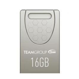 TEAM C156 16GB USB2.0 flash drive SILVER (kompaktní design, rozměr 19.5 x 12.2 x