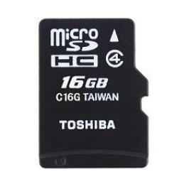 Toshiba paměťová karta M102, 16GB, micro SDHC, SDU16GSDHC4M102M4TR