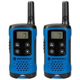 Motorola TLKR T41 vysílačka - 4 km, 8 kanálů, modrá