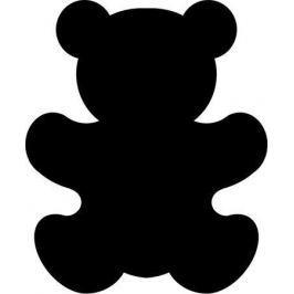 NO NAME Ozdobná děrovačka, 16 mm, medvídek