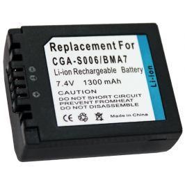TRX baterie Panasonic/ 1300 mAh/ CGA-S006E/ CGR-S006/ DMW-BMA7/ DMWBMA7/ CGR-S00