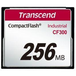 Transcend 256MB INDUSTRIAL CF300 CF CARD, high speed 300X paměťová karta (SLC)