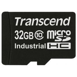 Transcend 32GB microSDHC (Class 10) MLC průmyslová paměťová karta (bez adaptéru)