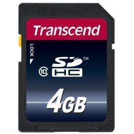 Transcend 4GB SDHC (Class 10) (Premium) paměťová karta