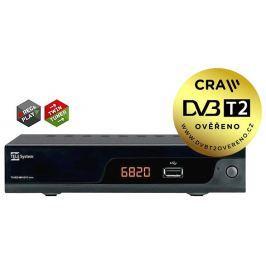 Tele Systems DVB-T přijímač  TS6820 TWIN DVB-T2 H.265 HEVC přijímač