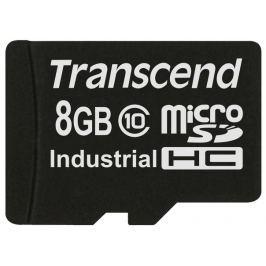 Transcend 8GB microSDHC (Class 10) MLC průmyslová paměťová karta (bez adaptéru),