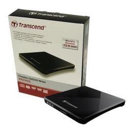 Transcend Externí DVD vypalovačka  Extra Slim Portable CD/DVD Writer - černá