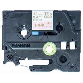 Brother - TZE-RE34 růžová / zlatá (12mm, 4m, pruhovaná)