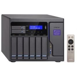 QNAP TVS-882-i3-8G Turbo NAS server, 3,7 GHz DC/8GB/2xSSD+6xHDD/4xGL/3xHDMI/USB