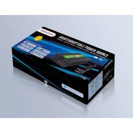 Carspa Napěťový měnič  UPS600-12 12V/230V 600W s nabíječkou, 12V/10A a funkcí UPS