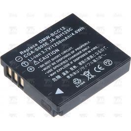T6 POWER Baterie  Samsung IA-BH125C, CGA-S005, D-Li106, DB-60, DB-65, DMW-BCC12,