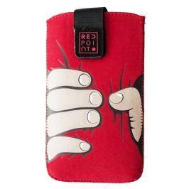 ALIGATOR Pouzdro RedPoint Velvet Red Hand velikost 3XL