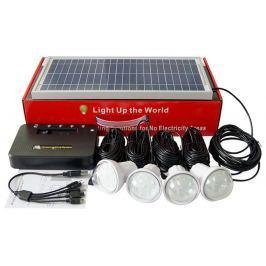 VIKING solární domácí osvětlovací set RE5204 - HOME SOLAR KIT RE5204