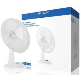 VALUELINE stolní ventilátor 40 cm/ příkon 46,8W/ 3 rychlosti/ funkce oscilace/ p