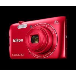 Nikon Kompaktní fotoaparát  COOLPIX A300 RED