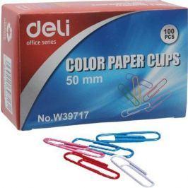 NO NAME Kancelářské sponky, 50mm, mix barev