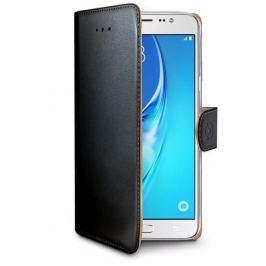 CELLY Pouzdro na mobil flipové  WALLY pro Samsung Galaxy J5 (2016) - černé