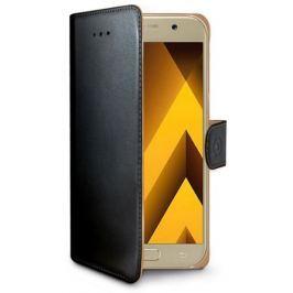 CELLY Pouzdro na mobil flipové  Wally pro Samsung Galaxy A5 (2017) - černé