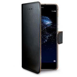 CELLY Pouzdro na mobil flipové  Wally pro Huawei P10 Lite - černé