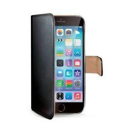 Celly Pouzdro na mobil flipové  WALLY pro Apple iPhone 6S - černé Pouzdra, kryty a fólie