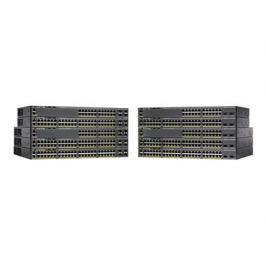 CISCO Catalyst 2960-X 24 GigE PoE 370W, 2 x 10G SFP+, LAN Base