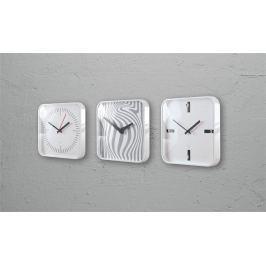 SIGEL Nástěnné hodiny artetempus(R)-litho, bílá,