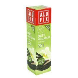 ALUFIX Odpadkové pytle, zatahovací, 25 l, 15 ks, vanilka,