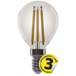 EMOS Lighting Emos LED žárovka MINI GLOBE, 4W/35W E14, WW teplá bílá, 400 lm, Filament A+