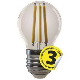 EMOS Lighting Emos LED žárovka Filament Mini Globe 4W/35W E27, WW teplá bílá, 400 lm