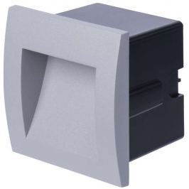 EMOS Lighting LED orientační vestavné svítidlo, čtv. 1W teplá bílá IP65