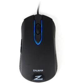 Zalman - Myš ZM-M201R Optická - 100DPI, black, blue LED, USB