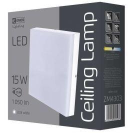 EMOS Lighting LED přisazené svítidlo, čtverec 15W studená bílá IP44