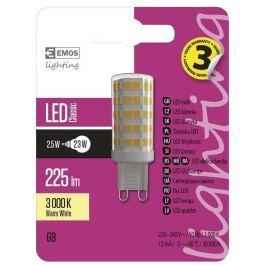 EMOS Lighting LED žárovka Classic JC A++ 2,5W G9 teplá bílá